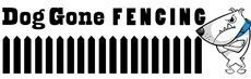 Dog Gone Fencing Logo