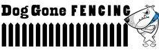 Dog Gone Fencing Logo