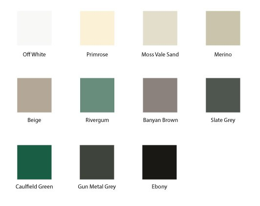 Colour Options for Corrugated