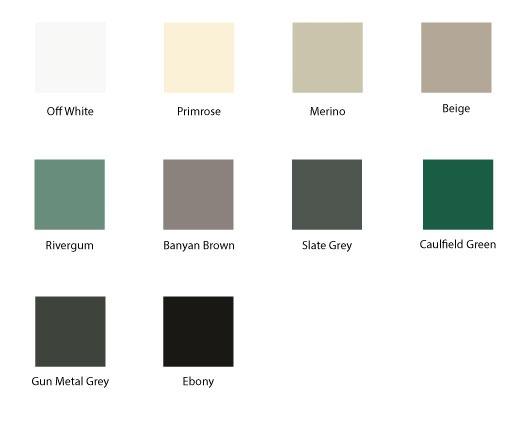 Colour Options for Wavelok and Smartspan