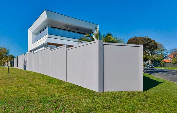 Rendered walls Dog Gone Fencing Mackay