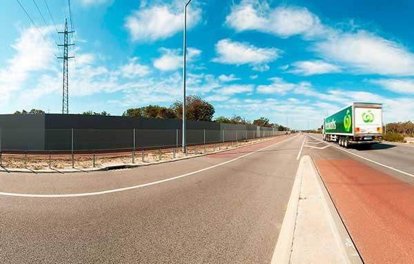 Road Noise Reduction Fence Dog Gone Fencing